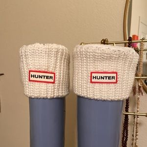 original half cardigan knitted cuff tall boot sock